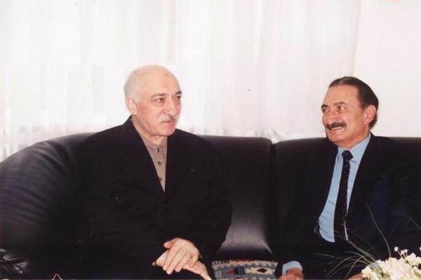 Fethullah Gulen and Then-Prime Minister of Turkey Bulent Ecevit