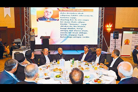 Journalists and Writers Foundation Honorary President Fethullah Gülen greeted guests with a message he issued for the GYV iftar on Tuesday night.