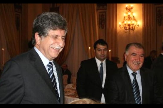Zaman daily columnist Abdullah Aymaz (on the right), who was at the dinner, noted that only dialogue will make the world an island of peace and serenity.