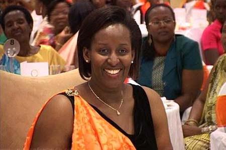 Rwanda's First Lady Jeannette Kagame