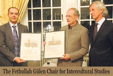 Officials from the Catholic University of Leuven have established a chair named after Turkish scholar Fethullah Gülen