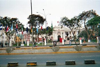 Peru Parliament Building