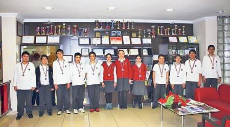 Coşkun Kolej won 18 gold medals.