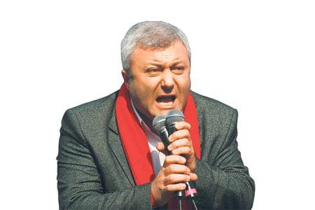 Tuncay Özkan (Photo: Today's Zaman)