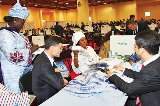 17th TUSKON trade summit (Photo: Zaman)