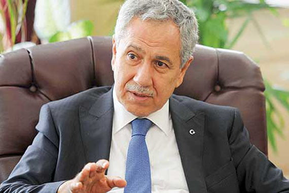 Deputy Prime Minister Bülent Arınç in remarks made on Tuesday said the government does not need to get into a verbal row with the Hizmet movement. (Photo: Today's Zaman)