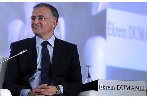 Ekrem Dumanli is editor in chief of the Zaman daily newspaper in Turkey.