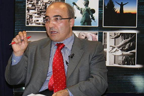 Professor Hakan Yavuz (Photo: Cihan, İhsan Denli)