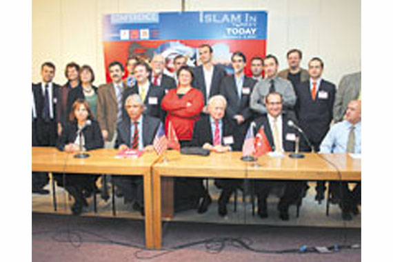 """Columbia University in New York hosted a symposium titled, """"Islam in Turkey Today"""" to discuss Fethullah Gülen and his ideas."""