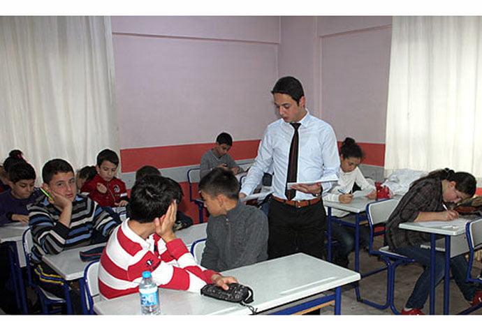 A classroom in a prep school in Zonguldak. (Photo: Cihan, Sinan Kabatepe)