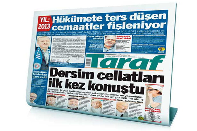 The Taraf daily reports that Turkish government profiled some faith-based groups until 2013.
