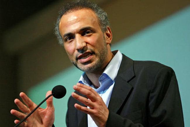 Islamic scholar Tariq Ramadan speaks in New York. (Photo: AP, Kathy Willens)