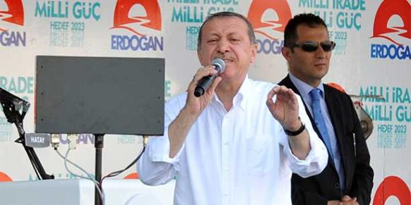 Turkish Prime Minister Recep Tayyip Erdoğan speaks during an AK Party rally in this file photo. (Photo: Today's Zaman, Mevlüt Karabulut)