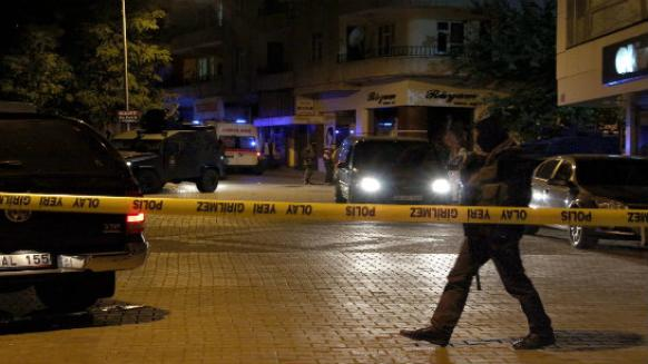 Bingöl provincial police chief Atalay Ürker was reportedly the target of the attack. (Photo: DHA)