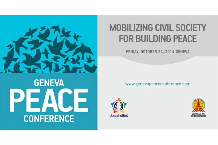 Geneva Peace Conference: Mobilizing Civil Society for Building Peace