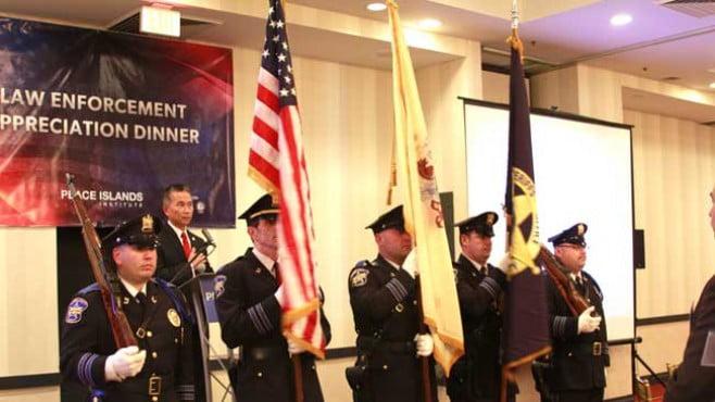 The Peace Islands Institute's 5th Annual Law Enforcement Appreciation Award