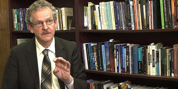 American Professor Philip Clayton, a philosopher and a theologian at the Claremont School of Theology in Claremont, California, spoke to Today's Zaman. (Photo: Cihan)
