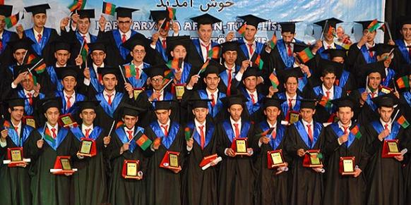 Hundreds of students have been graduated from the Turkish schools in Afghanistan since 1995.(Photo: Cihan)