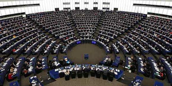 Members of the European Parliament take part in a voting session at the European Parliament in Strasbourg. (Photo: Reuters)