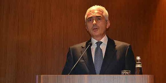 Turkish Industrialists and Businessmen's Association (TÜSİAD) Chairman Haluk Dinçer. (Photo: Cihan)