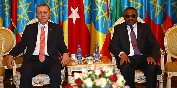 President Recep Tayyip Erdoğan called on the African countries to close down Turkish schools during a visit to Ethiopia last week. (Photo: Cihan)