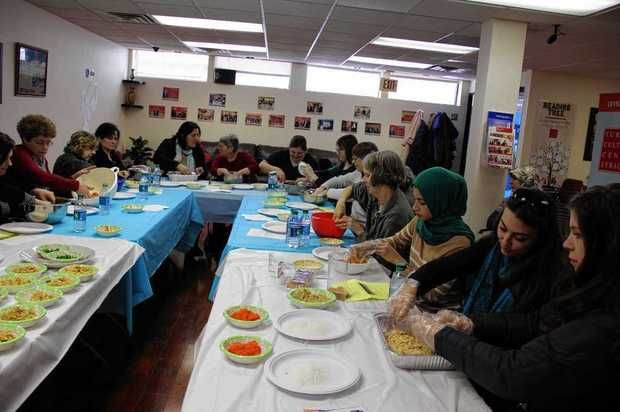 Besides organizing Turkish Day on April 23 in Syracuse, the Turkish Cultural Center in Syracuse offers cooking classes (above), educational and recreational activities for children and families. The center is located at 320 Tracy St., Syracuse. (Photo courtesy of Tim Saka)
