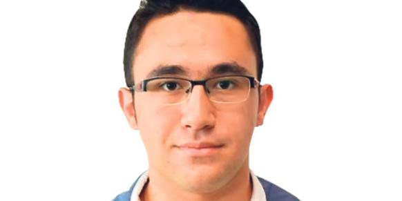 Mehmet Emin Arıcı, a student at the Ankara-based Samanyolu High School and FEM university prep school, received the highest score on the YGS exam.