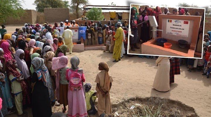 The Turkish charity organization Kimse Yok Mu (Is Anybody There?) constructed in a small town in one of Africa's poorest countries, Chad, dedicated to the memory of Özgecan Aslan, who was brutally murdered in Mersin province on Feb. 11.
