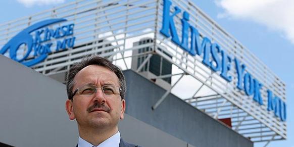 Kimse Yok Mu aid organization's chairman İsmail Cingöz (Photo: Cihan)