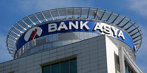 Bank Asya headquarters is pictured in İstanbul on Feb. 4. (Photo: Reuters)