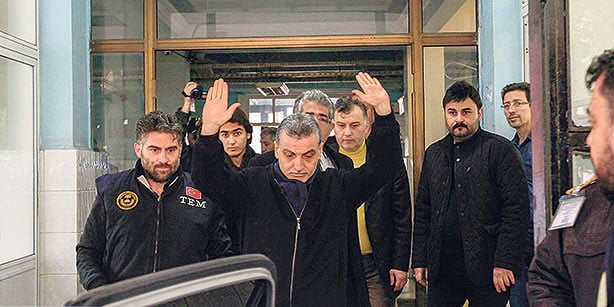 Journalist Karaca was arrested on Dec. 19, 2014 based on a soap opera script, as part of a government-orchestrated crackdown on the media. (Photo: Cihan)