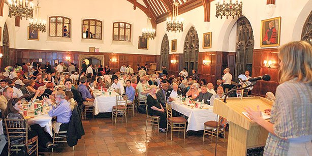 The iftar event in Columbia University, was attended by numerous prominent members of the community.(Photo: AP)