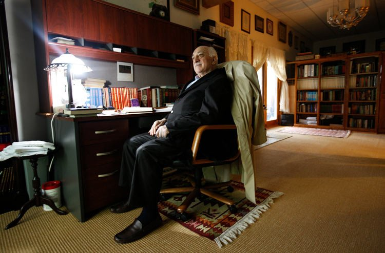 Fethullah Gulen, a Muslim cleric who lives in self-imposed exile in Pennsylvania and is a rival of President Recep Tayyip Erdogan of Turkey. Credit Ruth Fremson/The New York Times