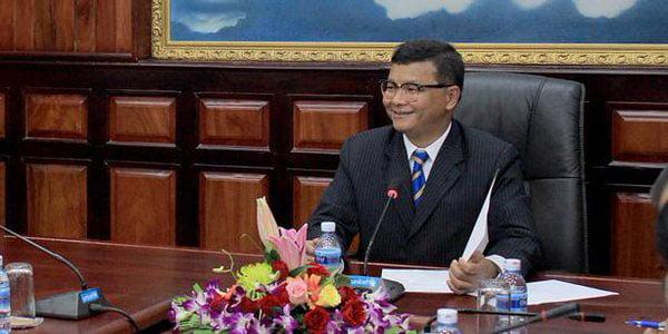 Cambodian Education Minister Hang Chuon Naron. (Photo: Cihan)