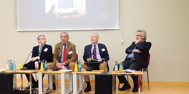 Many academics and journalists attended the symposium held in Germany.(Photo: Today's Zaman)