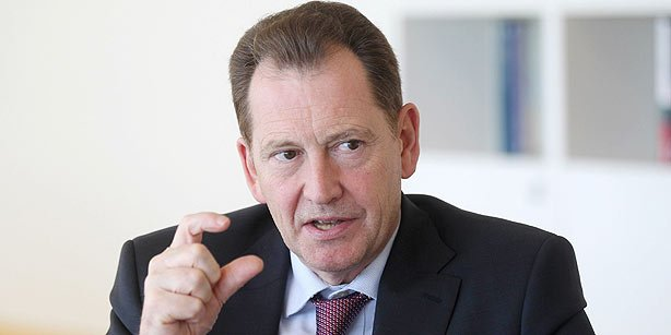 ALDE President Sir Graham Watson. (Photo: Today's Zaman)