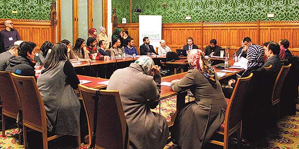 The conference at the House of Lords was attended by various academics, journalists, scholars and opinion leaders from a number of countries. (Photo: Today's Zaman)