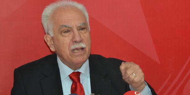İP leader Doğu Perinçek. (Photo: Cihan)