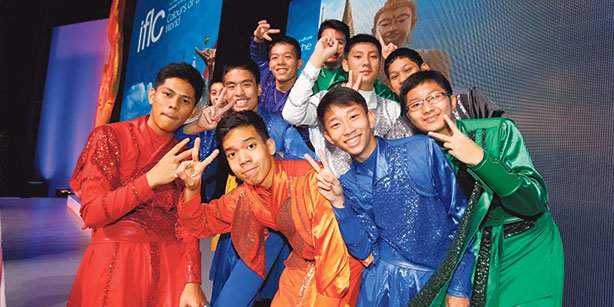 Students from 21 countries attended the IFLC, held at the Thailand Cultural Centre in the country's capital of Bangkok. (Photo: Cihan)