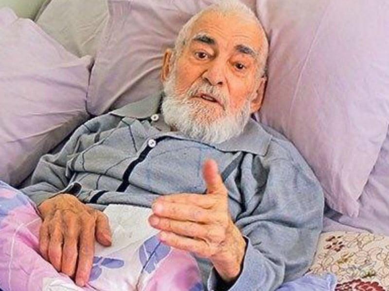 A 91-year-old man, Alaattin Öksüz