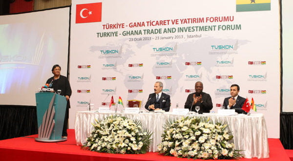 Trade fair organized by Tudec İn Turkey and attended by his Excellency President John Mahama and a delegation of renowned Business people.