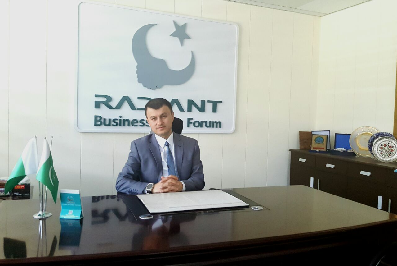 Salih Demir Pazarci, chief executive of Radiant Businessmen Forum