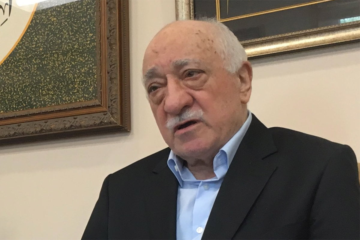 Turkish Islamic scholar Fethullah Gülen Photo Credit: JEREMY ROEBUCK