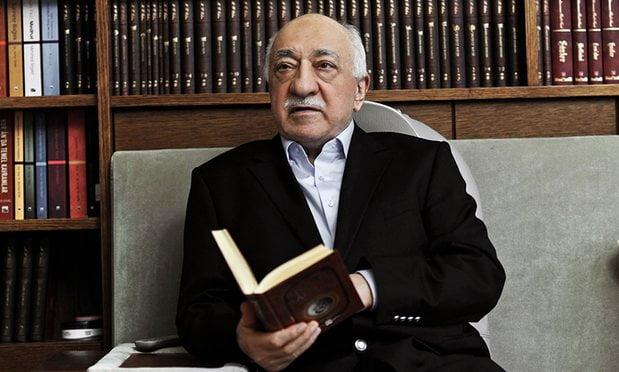 In a picture taken in March 2014, Fethullah Gülen sits at his residence in Saylorsburg, Pennsylvania. Photograph: Selahattin Sevi/AP