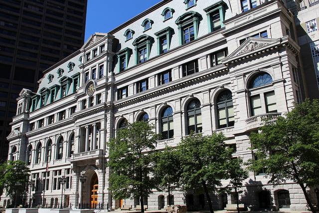 John Adams Courthouse in Boston, Massachusetts.