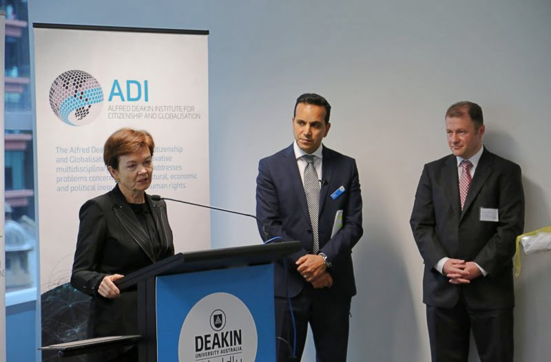 Vice Chancellor of Deakin University Jane den Hollander :
