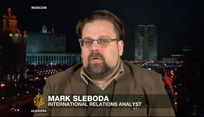 Mark Sleboda – a Russian international relations and security analyst