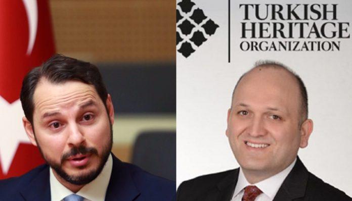 Berat Albayrak (L) and Halil Danışmaz