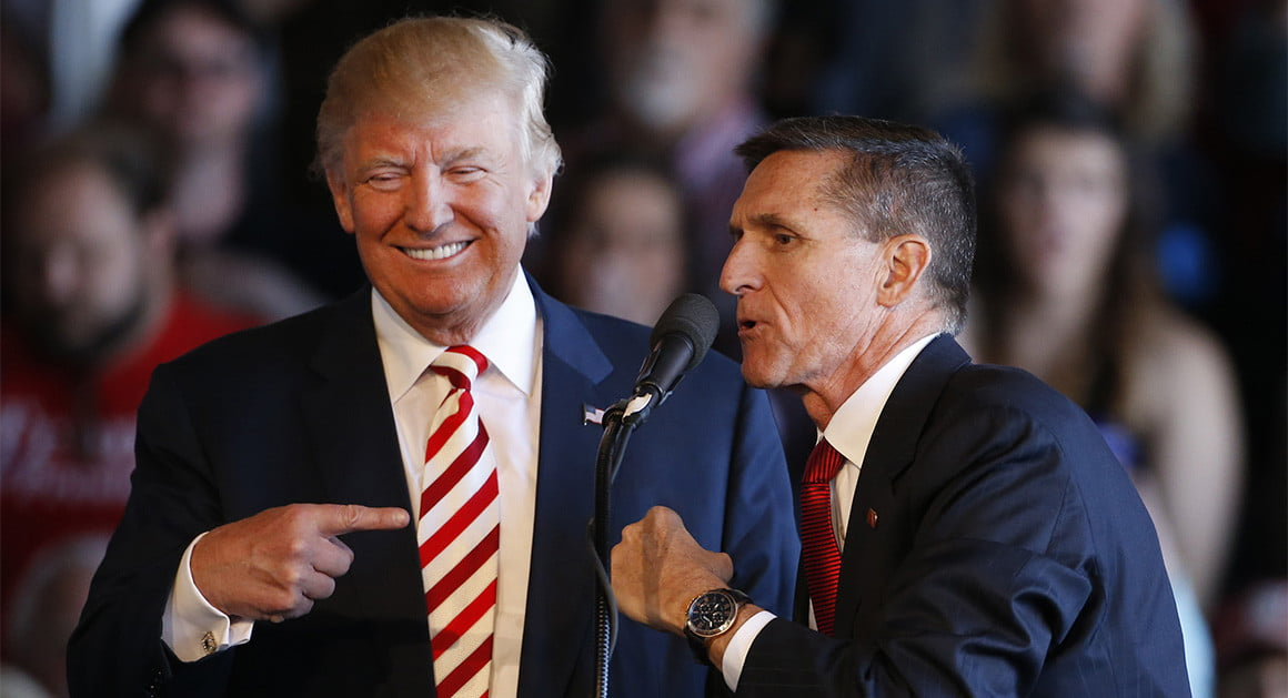 The Turkish government's connection to retired general Michael Flynn's client was first reported by the Daily Caller.   Getty
