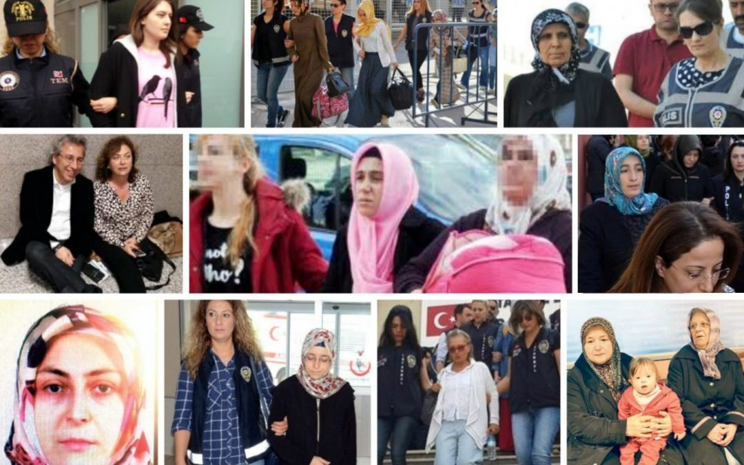 17,000 women along with some 700 babies are in prisons across Turkey. A number increased in recent months, in the wake of a repression campaign launched by the Erdogan regime.